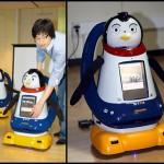 Le robot-pingouin : pas de pied mais quatre sens