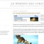 Le blog de la semaine (9) : le webinet des curiosités