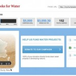 Backlink Party pour la campagne Charity: Water