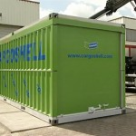 Le container pliable