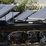 Quand les cimetières passent au solaire