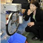 Le vélo qui purifie l'eau