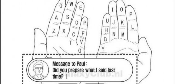 Utiliser ses doigts comme clavier virtuel