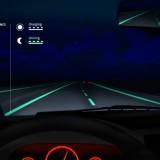Les routes phosphorescentes